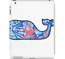 Vineyard Vines Whale Lilly Print 5 iPad Case/Skin