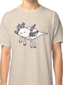cute happy floaty axolotol print Classic T-Shirt