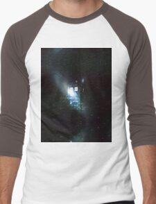 doctor who - tardis & galaxy Men's Baseball ¾ T-Shirt