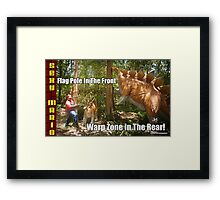 SexyMario MEME - Flag Pole In The Front, Warp Zone In The Rear! 1 Framed Print