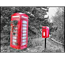 Phone & LetterBox HDR Photographic Print