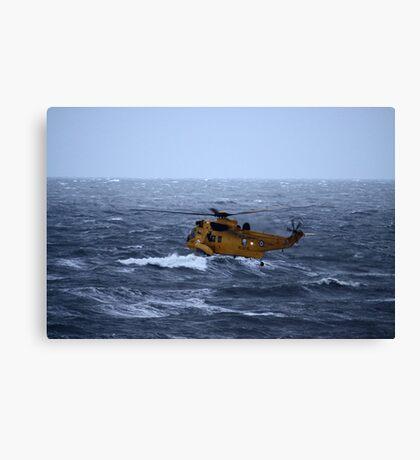 Rescue Operation Canvas Print