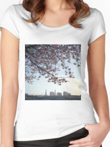 Dusk. Women's Fitted Scoop T-Shirt