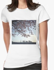 Dusk. Womens Fitted T-Shirt
