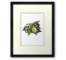 D110301 in Colour Framed Print