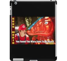 SexyMario MEME - You Found The Warp Zone To My Heart 2 iPad Case/Skin