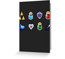 Zelda Items Greeting Card