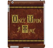 Once Upon A Time, Book iPad Case/Skin