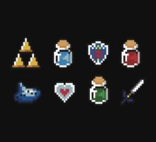 Zelda Items by Flaaffy