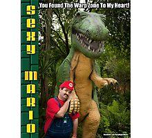 SexyMario MEME - You Found The Warp Zone To My Heart 3 Photographic Print