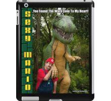 SexyMario MEME - You Found The Warp Zone To My Heart 3 iPad Case/Skin