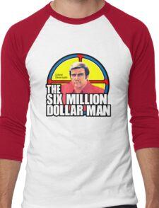 Six Million Dollar Man Men's Baseball ¾ T-Shirt