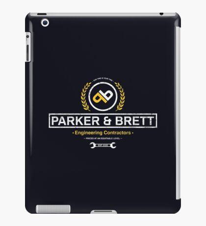 Parker & Brett iPad Case/Skin