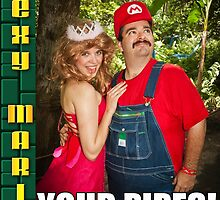 SexyMario MEME - I Enjoyed Cleaning Your Pipes! 1 by SexyMario