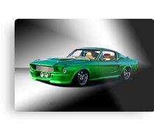 1965 Ford Mustang Fastback I Metal Print