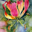 Gloriosa Lily by Val Spayne