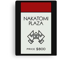Nakatomi Plaza - Property Card Canvas Print
