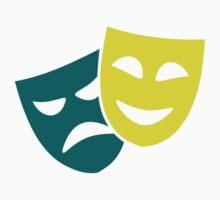 Theater masks One Piece - Short Sleeve