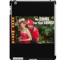 SexyMario MEME - My Coins For Your Loins 1 iPad Case/Skin