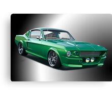 1968 Ford Mustang Fastback II Canvas Print