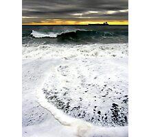 White energy Photographic Print