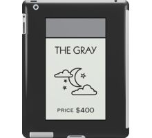 The Gray - Property Card iPad Case/Skin