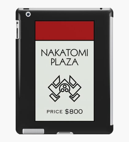 Nakatomi Plaza - Property Card iPad Case/Skin