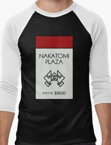 Nakatomi Plaza - Property Card Men's Baseball ¾ T-Shirt