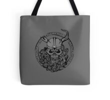 Viking Skull Tote Bag