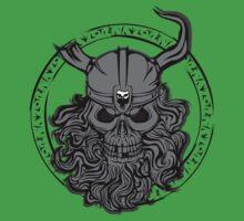 Viking Skull Kids Clothes