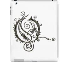 LATTICE LETTER O - the storm  iPad Case/Skin