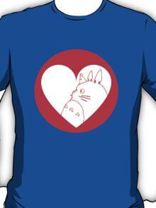 My Neighbour Totoro Heart T-Shirt