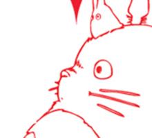 My Neighbour Totoro Heart Sticker