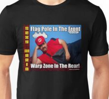 SexyMario MEME - Flag Pole In The Front, Warp Zone In The Rear! 2 Unisex T-Shirt