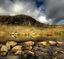 Pavey Ark & Stickle Tarn by Craig S. Sparks