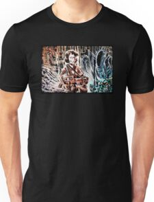 Ripley and the Alien Art Print. Aliens, Sigourney Weaver, Joe Badon, Ridley Scott, James Cameron, Drawing, illustration, sci fi, horror Unisex T-Shirt