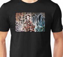 Ripley and the Alien Art Print. Aliens, Sigourney Weaver, Joe Badon, Ridley Scott, James Cameron, Drawing, illustration, sci fi, horror Unisex T-Shirt