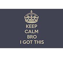 Keep Calm Photographic Print