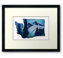 Washington Love  Framed Print