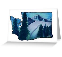 Washington Love  Greeting Card