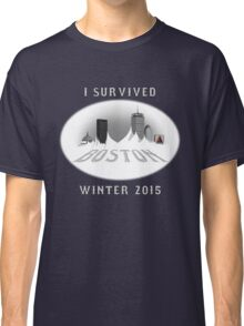 I Survived Boston Winter 2015 (Color) Classic T-Shirt