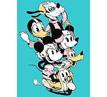 Mickey Gang Photographic Print