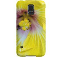 Yellow Hibiscus SRF 17 5799 Samsung Galaxy Case/Skin
