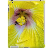Yellow Hibiscus SRF 17 5799 iPad Case/Skin