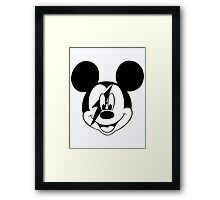 Mickey Rock & Roll Framed Print