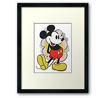 Mickey Vintage Framed Print