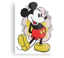 Mickey Vintage Metal Print