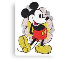 Mickey Vintage Canvas Print