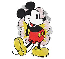 Mickey Vintage Photographic Print