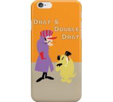Drat & Double Drat iPhone Case/Skin